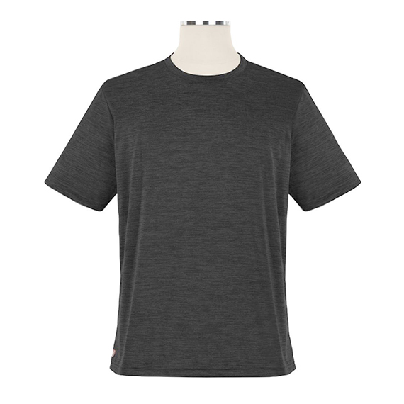 Heathered Short Sleeve Performance Crewneck T-Shirt - Unisex