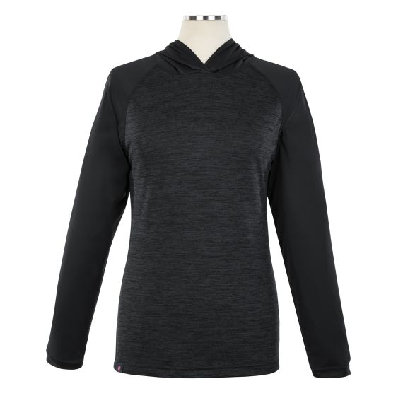 Heathered Long Sleeve Performance Lite Hoody - Female