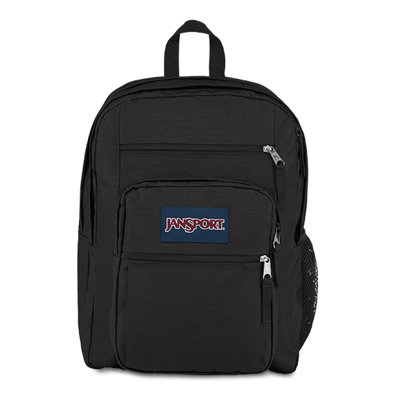 'BIG STUDENT' - Jansport Knapsack - in Black