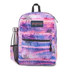 'CROSS TOWN' - Jansport Knapsack - in Palm Paradise